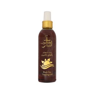 Black Tea Tanning Oil
