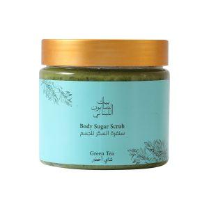 Body Sugar Scrub Green Tea