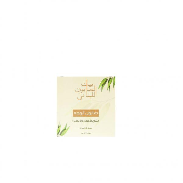 2489-Facial-Soap-Greentea-&-Aloe-Vera-Front