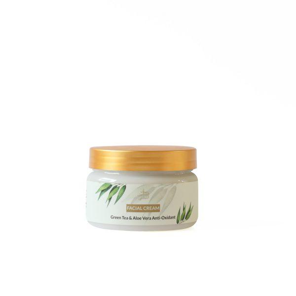 2633-Facial-Cream-Green-Tea-&-Aloe-Vera-Front